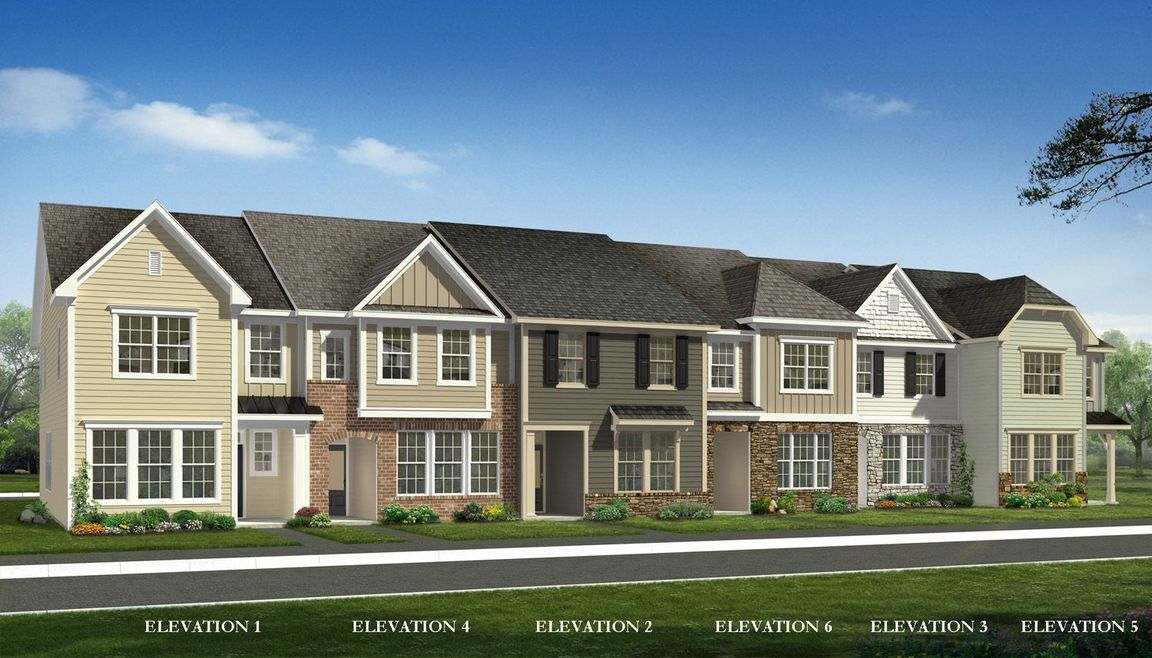 Ready To Build Home In Wendell Falls Townhomes Community