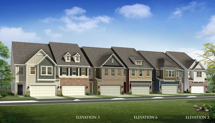 Ready To Build Home In Paddlers Cove Townhomes Community