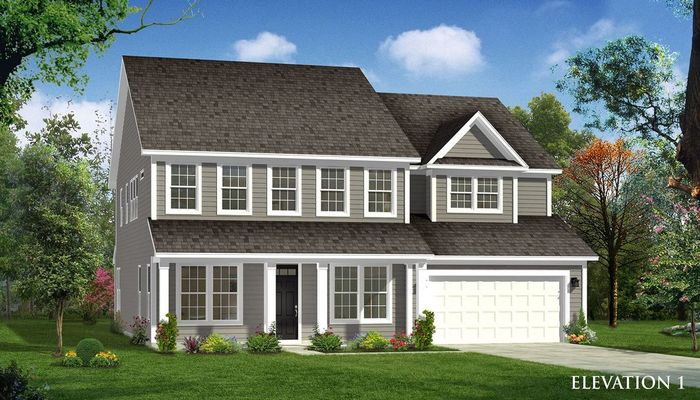 Ready To Build Home In Masons Bend Community