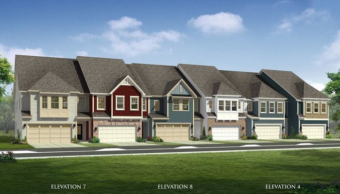 Ready To Build Home In Masons Bend Townhomes Community