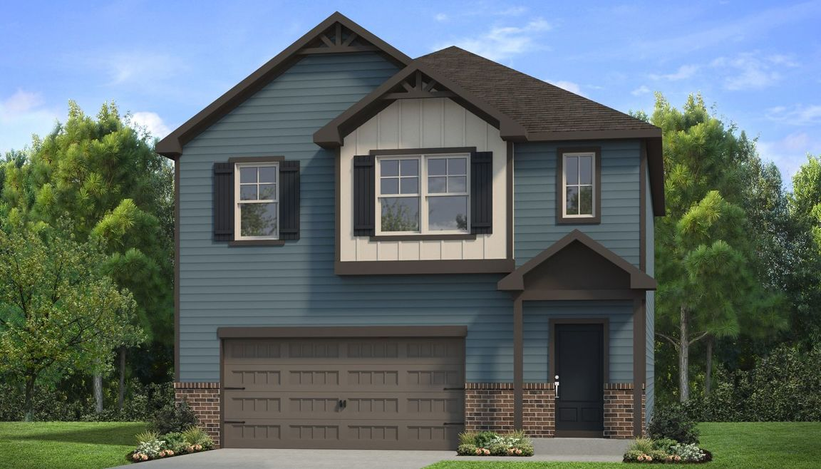 Ready To Build Home In Towne Center Community