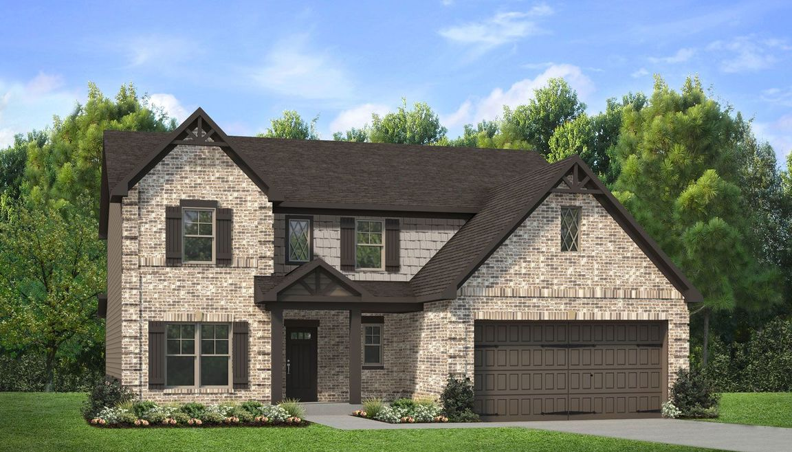 Ready To Build Home In Traditions At Crystal Lake Community