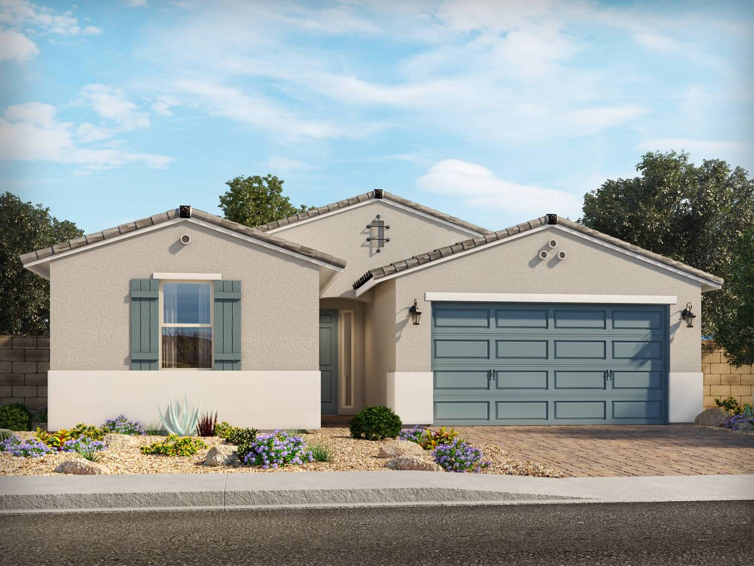 Ready To Build Home In Sanctuary at Desert Oasis Community
