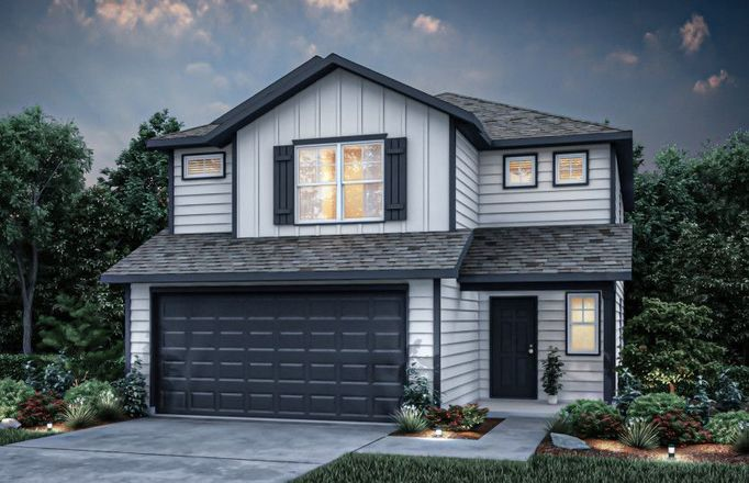 Move In Ready New Home In Willow Point Community