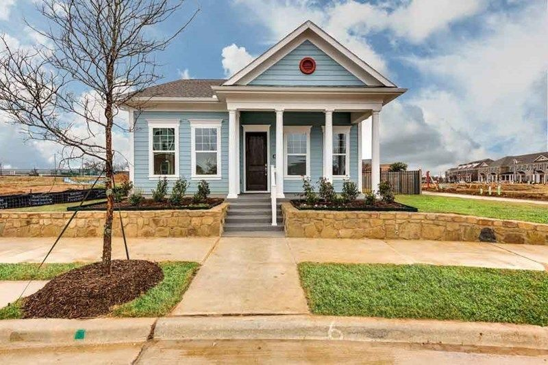 Ready To Build Home In HomeTown Cottage Community