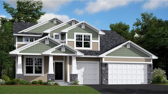 Ready To Build Home In Spancil Hill Community