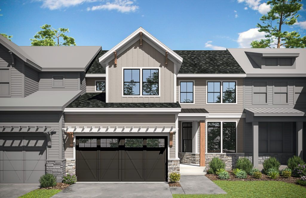 Ready To Build Home In Ventry at Edgmont Preserve - Carriages by Rockwell Custom Community