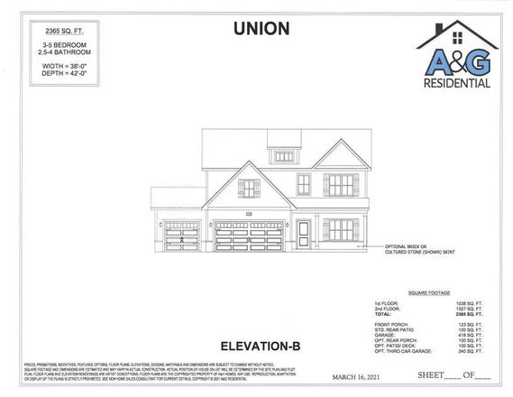 Move In Ready New Home In Gretchen Pines Community
