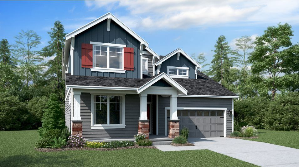 Ready To Build Home In Springbrooke Hill Community