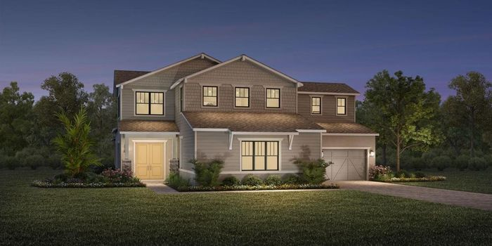 Ready To Build Home In Shores at Lake Whippoorwill - Estates Collection Community