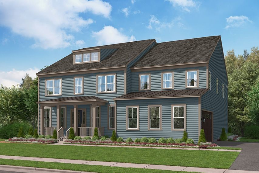 Ready To Build Home In Woodborne Preserve Community