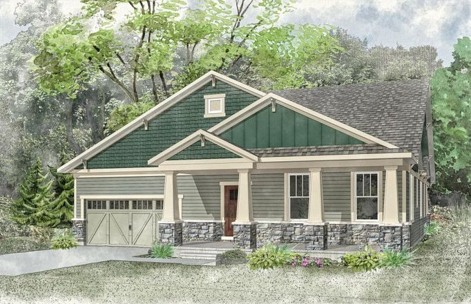 Move In Ready New Home In The Residences at the Cuneo Mansion and Gardens Community