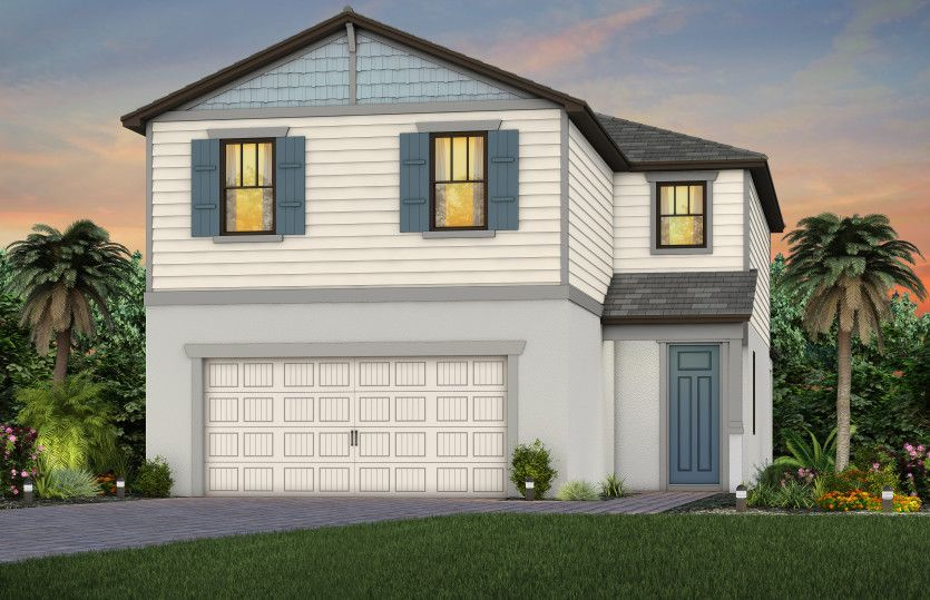 Ready To Build Home In Hampton Lakes at River Hall Community