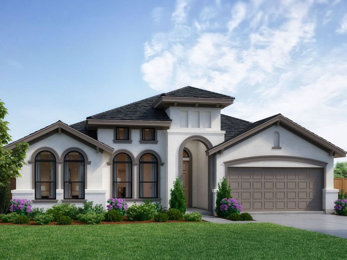 Ready To Build Home In Vickery Community