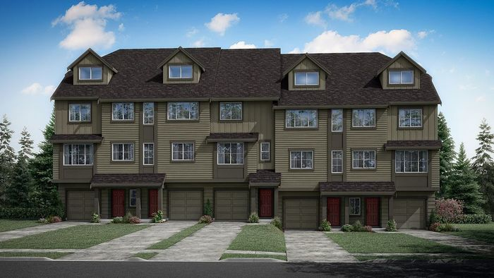 Move In Ready New Home In Meadow View - Townhome Series Community