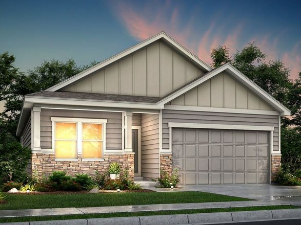 Ready To Build Home In Lochbuie Station Community