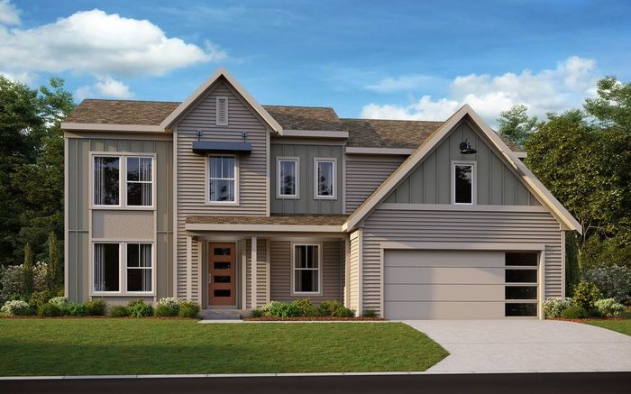 Ready To Build Home In Alexander Woods Community