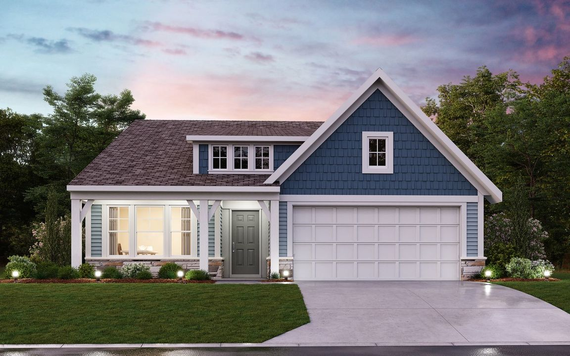 Ready To Build Home In Riverdale Community