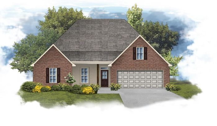 Ready To Build Home In Parc Evangeline Community