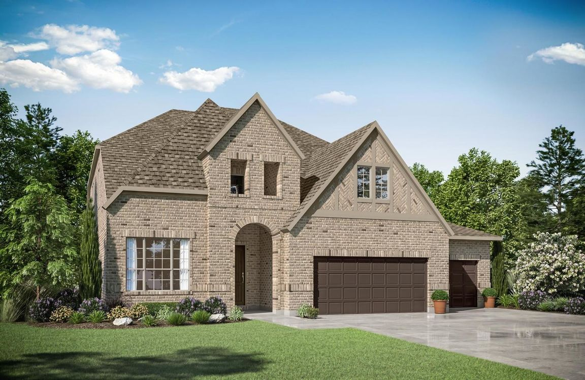 Ready To Build Home In Woodtrace 75' Community