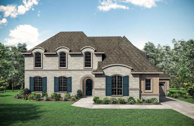 Ready To Build Home In Canyon Falls 100's Community