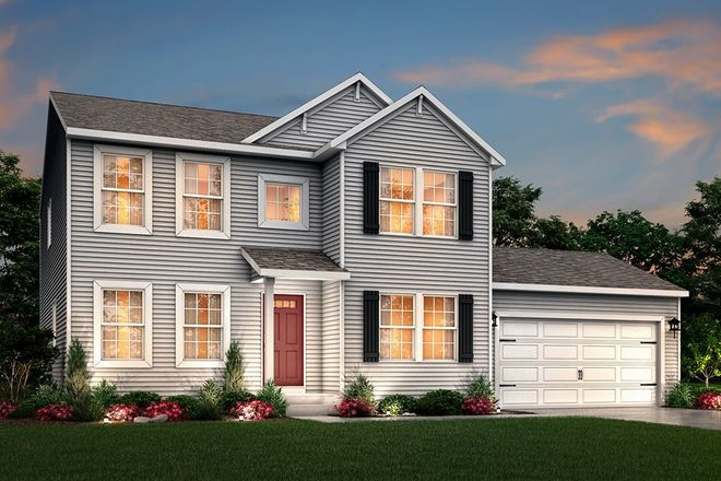 Ready To Build Home In Watertown Place Community