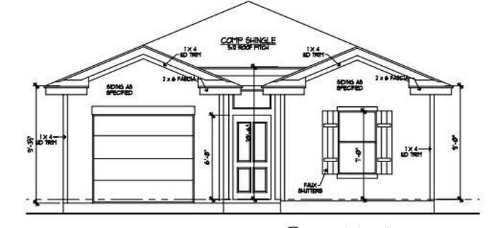 Ready To Build Home In Martindale Heights Community