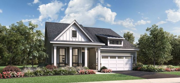 Move In Ready New Home In Regency at Creekside Meadows - Villas Collection Community