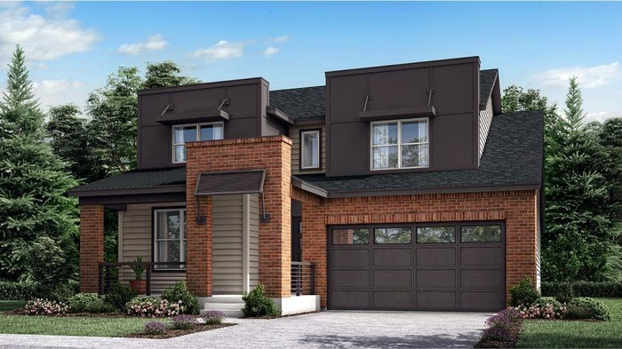 Ready To Build Home In Sterling Ranch - The Monarch Collection Prospect Village Community