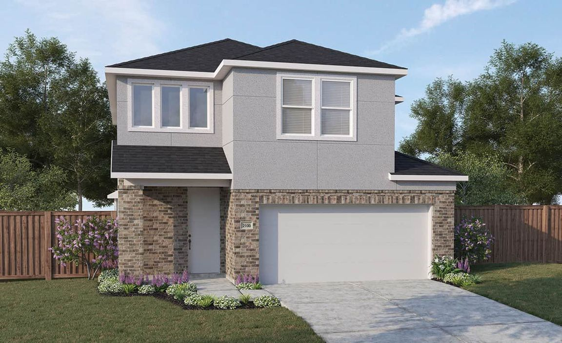 Ready To Build Home In Park & Lake Villas Community