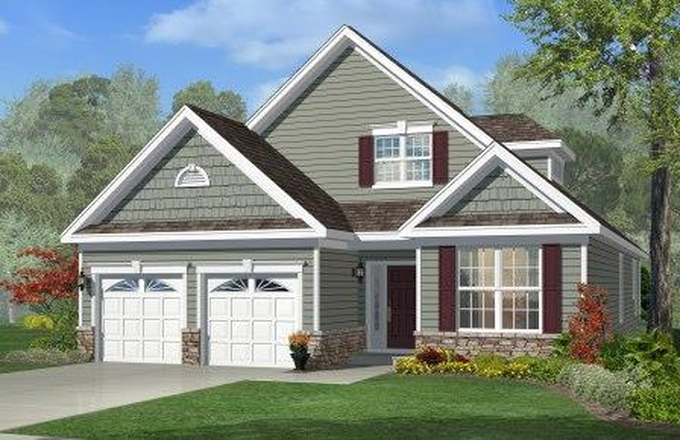 Ready To Build Home In Woods Landing Community