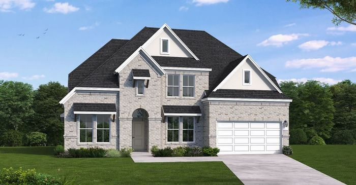 Ready To Build Home In Firethorne West 70' Community