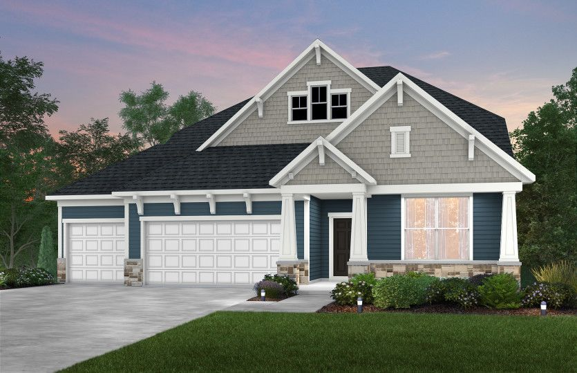 Ready To Build Home In Adelwood by Del Webb Community