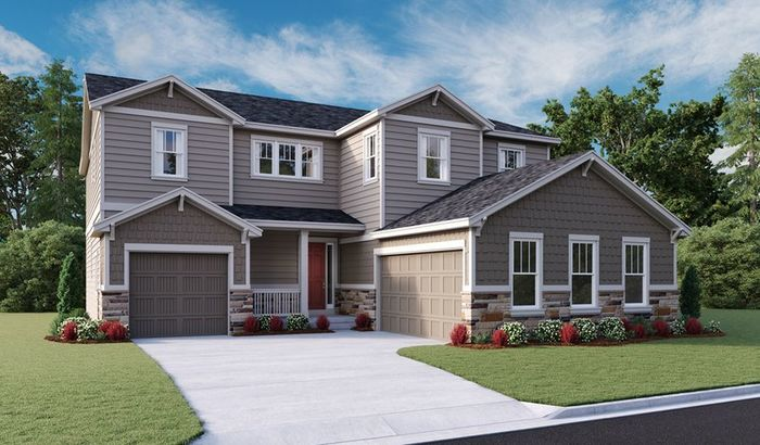 Move In Ready New Home In Stone Creek Ranch Community