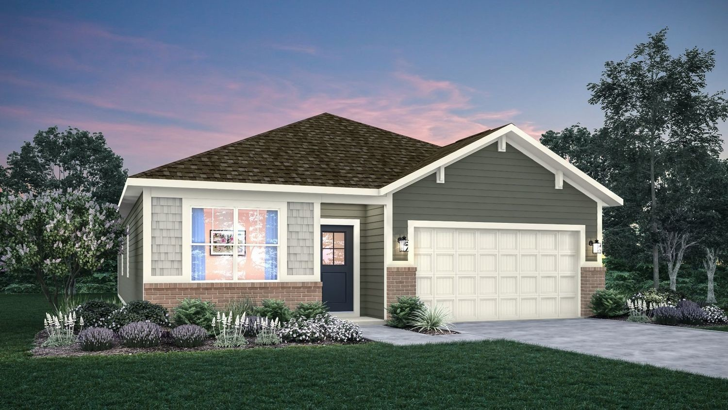 Ready To Build Home In Grassy Manor Community
