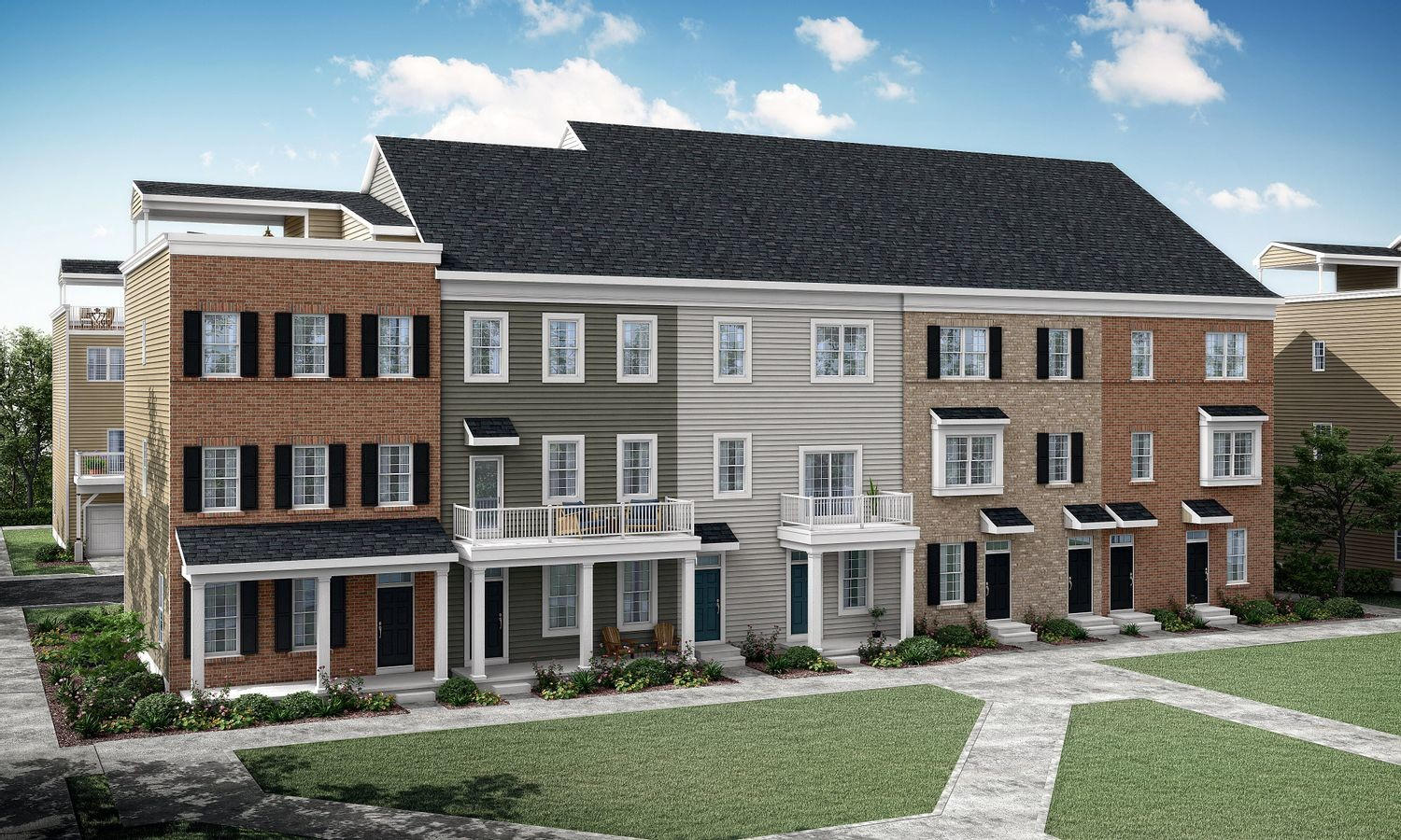 Ready To Build Home In Waterside By Lennar - Waterside Traditional Towns Community