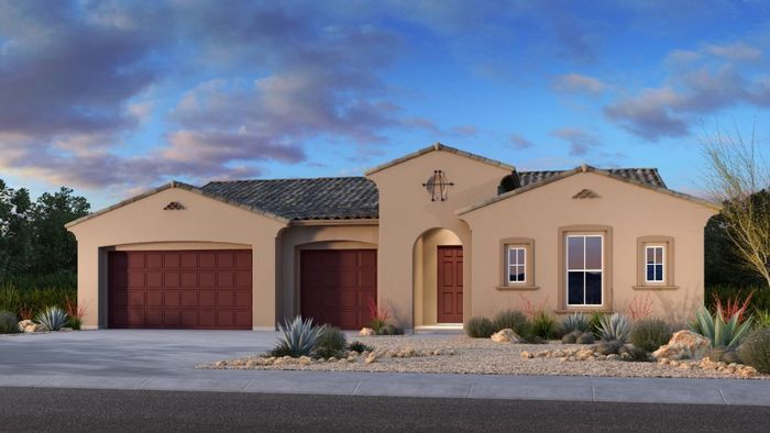 Ready To Build Home In StoryRock Summit Collection Community