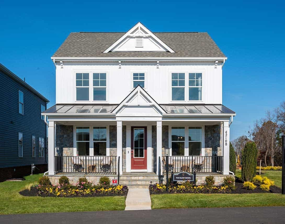 Ready To Build Home In West Park at Brambleton Community