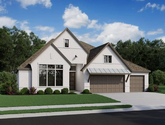 Ready To Build Home In Cross Creek Ranch 65' Community