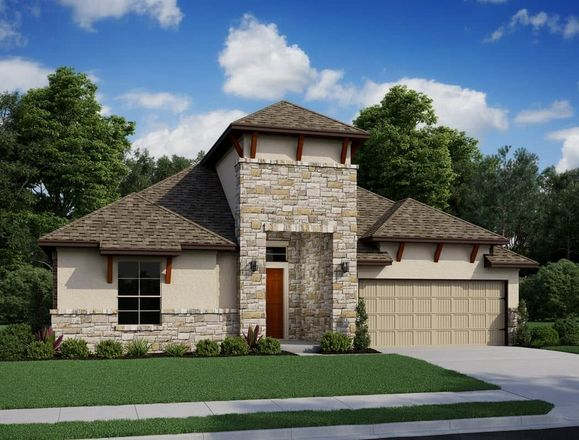 Ready To Build Home In Cross Creek Ranch 60 Community