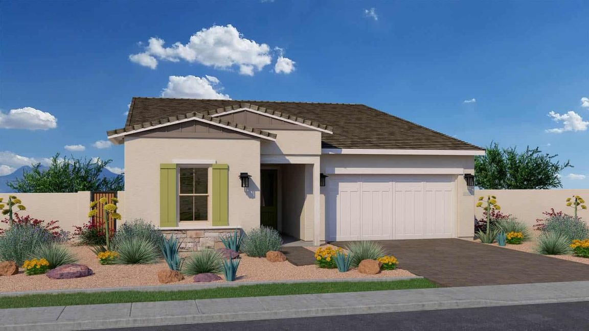 Ready To Build Home In Canopy North Community