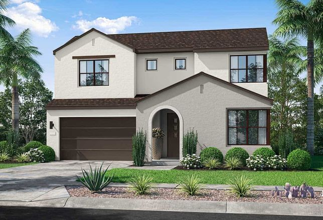 Ready To Build Home In Sendero Collection Community