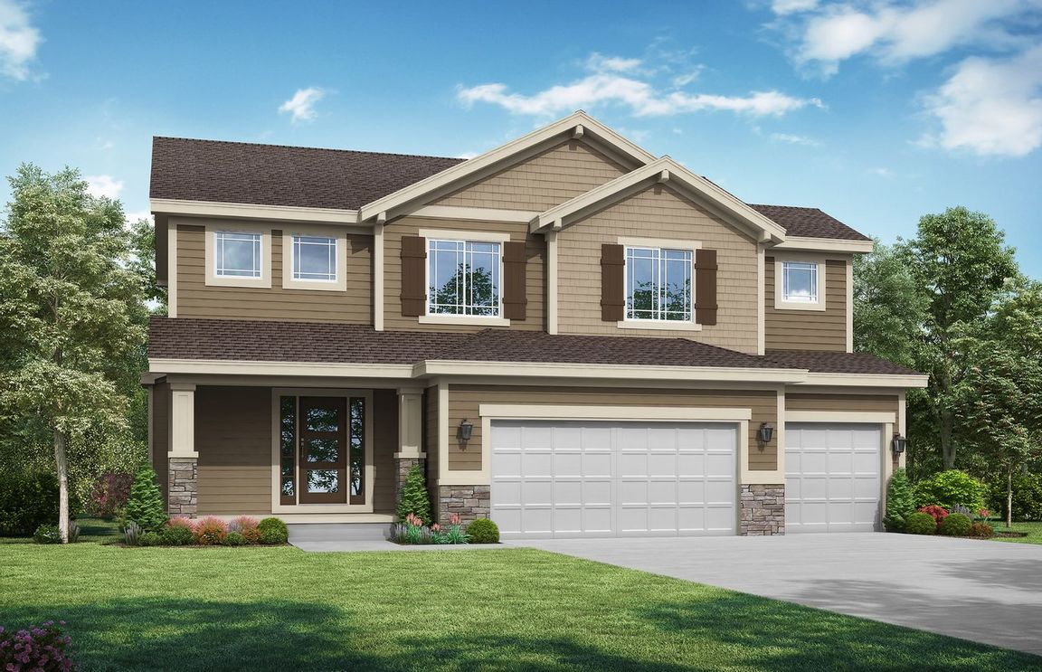 Ready To Build Home In Timber Ridge Community