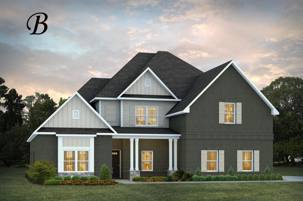 Ready To Build Home In Mulberry Grove Community