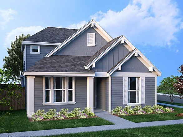 Ready To Build Home In Magnolia Landing Cottage 40's Community