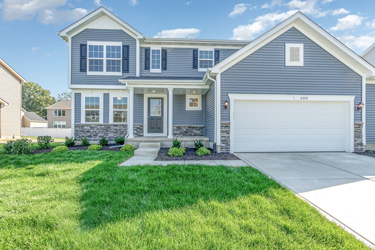 Move In Ready New Home In Dunewood Trails Community