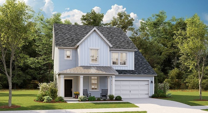 Ready To Build Home In Waterside at Lakes of Cane Bay - Arbor Collection Community