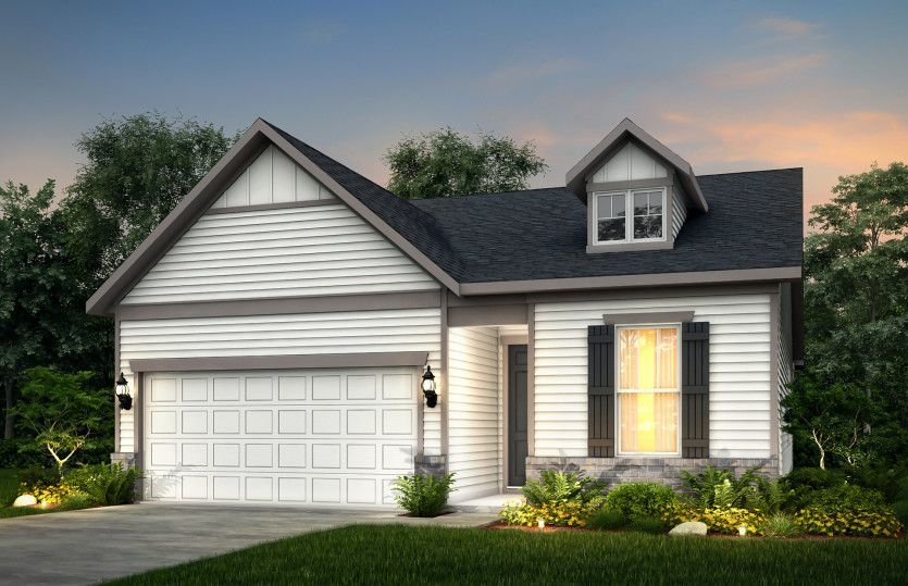 Ready To Build Home In Vandalia by Del Webb Community