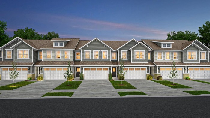 Ready To Build Home In Camden Townhomes Community