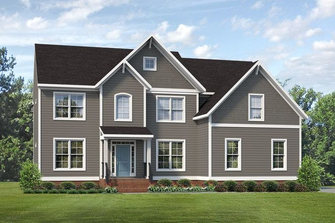Ready To Build Home In Meadowville Landing Community